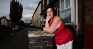 White Dee (Deirdre Kelly): at home on 'Benefits Street'