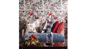 Give your home a stylish spring clean by papering the walls in this beautiful Butterfly Garden wallpaper from Osborne and Little's SS14 collection. The paper costs €204.92 per roll. The matching fabric is €71.03 per metre. There's 10 per cent off the collection, €184.43 for the paper and €63.93 for the fabric to Irish Times readers who present today's column at Dún Laoghaire-based Brian S Nolan (01-2800564, briansnolan.ie) at 102 George's Street Upper. Offer ends February 20th.