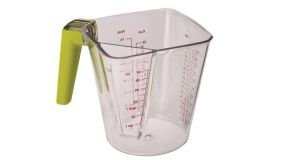 This versatile, dual-chamber clear plastic Joseph Joseph measuring jug, 10cm by 13cm by 14cm, can measure anything from 5 ml up to 1 litre. It has easy-to-read measurements, square corners and a soft-grip green handle to aid pouring. Kitchen Essence (074-9176919, kitchenessence.ie), based at unit 4A, Convoy Enterprise Centre, Convoy, Co Donegal is offering Irish Times readers 10 per cent off the dishwasher safe device, which is normally priced €17.95. Key in the code 'KEITFEB2014' to buy it for €16.16. Postage is €4. Offer ends February 28th.