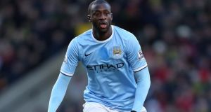 Yaya Toure, who has escaped a violent conduct charge from the English FA.