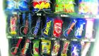 Survey indicates primary schools have moved to reduce the availability of fizzy drinks, sweets and crisps in school shops and vending machines.