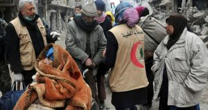 Since January 18th the UN agency serving Palestinian refugees has provided 6,500 food parcels for the 18,000 inhabitants of Yarmouk. Al-Qaeda's official Syrian offshoot Jabhat al-Nusra began withdrawing from the besieged Yarmouk Palestinian refugee neighbourhood south of Damascus under a deal reached yesterday, Al Jazeera reported.