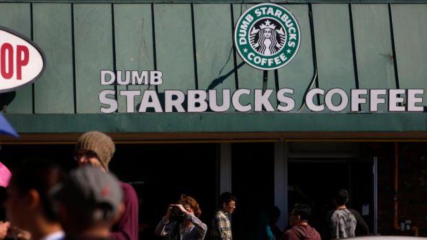 TV comedian behind 'Dumb Starbucks'