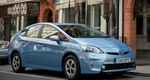 Toyota is recalling Prius models built between March 2009 and this month