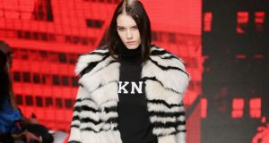 DKNY at New York fashion week. Photograph: Getty Images