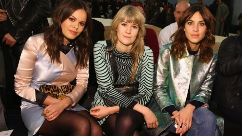 (L-R) Atlanta de Cadenet, Tennessee Thomas, and Alexa Chung attend Marc By Marc Jacobs. Photograph: Getty Images