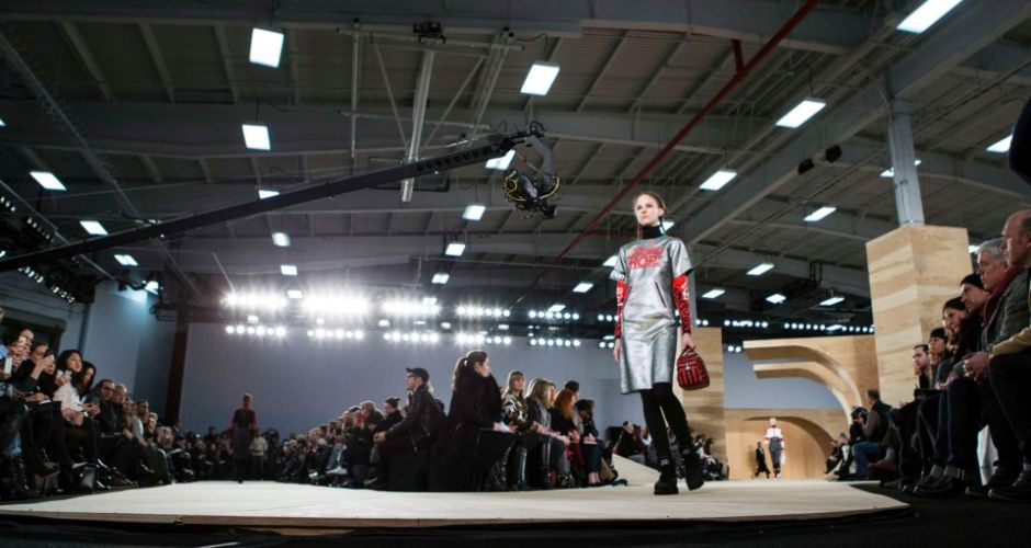 Pigtails a plenty at Marc Jacobs show, influenced by Japanese school uniforms, motocross and karate
