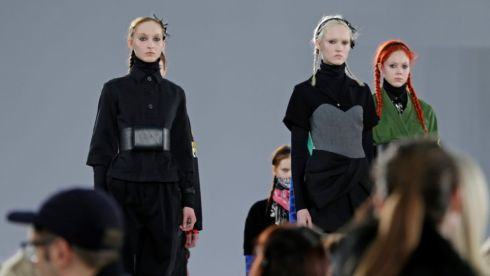 Marc By Marc Jacobs at New York Fashion Week. Photograph: EPA