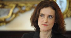 "Secretary of State for Northern Ireland Theresa Villiers:   ""I very much welcome the news that the Irish economy is showing increasing signs of healing, not least because of the positive impact that is likely to have here in Northern Ireland.""  Photograph: Aidan Crawley"