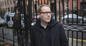 Off Broadway: Conor McPherson. Photograph: Sara Krulwich/New York Times