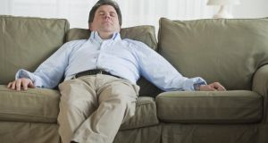 Not breathing easy: sleep apnoea is often associated with overweight men but anyone can have it. Photograph: Getty Images