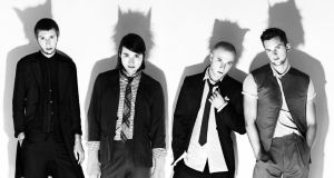 Wild Beasts:  Chris Talbot, Tom Fleming, Hayden Thorpe and Ben Little
