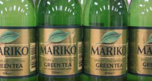 Sparkling green tea made in Co Mayo