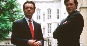 Michael Sheen and David Morrissey in The Deal