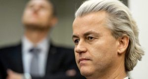 Freedom Party leader Geert Wilders has taken a strategic decision to run candidates in just two strong locations in next month's local elections. Photograph: EPA/Koen van Weel