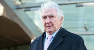 Former Anglo Irish Bank chairman Seán FitzPatrick has pleaded not guilty to all charges. Photograph: Collins