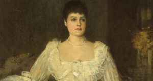 'A Lady in White (A Portrait of Lady Lyle)' by Sir John Lavery, estimated at €30,000-€50,000 at Whyte's