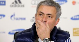 Chelsea manager Jose Mourinho saysArsene Wenger is a 'specialist in failure'. Photograph:  Ian Walton/Getty Images