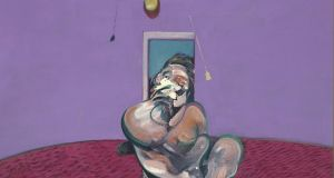 'Portrait of George Dyer Talking' by Francis Bacon which sold for £42.2 million at Christie's, London.