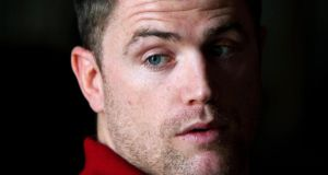 Jamie Heaslip: 'Most of the time, you get what you see with me.' Photograph: Dan Sheridan/Inpho