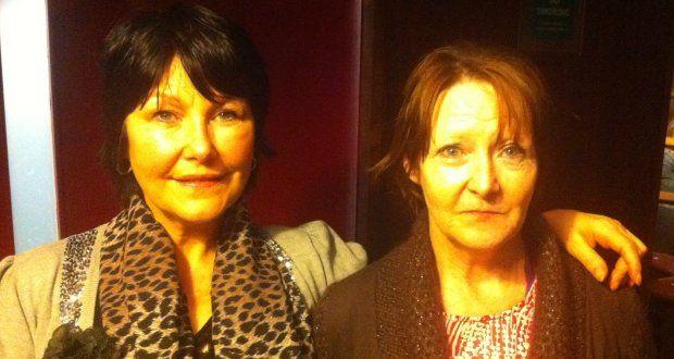 Margaret McGuckian (left) and Katie Walmsley