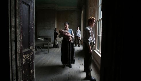 The Lockout: Actors re-enact tenement living during the 1913 Lockout in a house in the inner city of Dublin. Photograph: Leon Farrell, Photocall Ireland (3rd place in Arts & Entertainment)