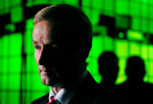 Untitled: Taoiseach Enda Kenny pictured at the Dublin Web Summit. Photograph:  Aidan Crawley/BloomBerg (3rd in Politics)
