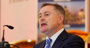 Minister for Public Expenditure Brendan Howlin: denied there are tensions between him and Minister for Health James Reilly