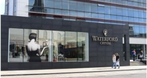 Waterford Crystal building.  Photograph: Bryan O'Brien