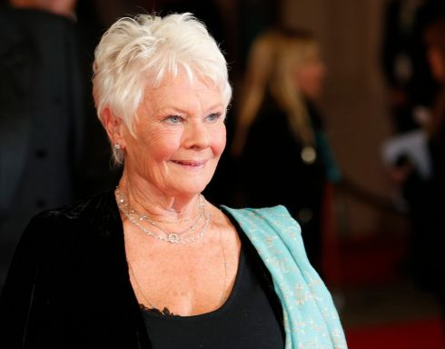 Actress Judi Dench arrives at the  Baftas. She was nominated as lead actress for Philomena but this was won by Cate Blanchett for Blue Jasmine. Photograph: Suzanne Plunkett /Reuters
