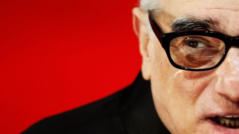 Director Martin Scorsese arrives at the Baftas. He was nominated in the best director category for The  Wolf of Wall Street. Photograph: Luke MacGregor/Reuters