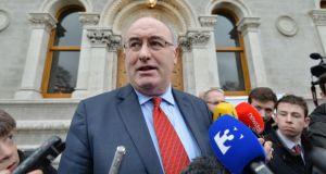 "Minister for the Environment Phil Hogan has said he is ""amazed"" by the lack of awareness of the risks posed by radon gas. Photograph: Alan Betson/The Irish Times."