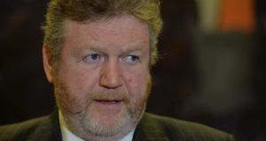 The Minister for Health, Dr James Reilly: free GP care a core objective. Photograph: Michael Donnelly/ Collins Photos