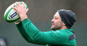 Rory Best expects England to target Ireland's maul in next Saturday's Six Nations clash at Twickenham. Photograph: Dan Sheridan/Inpho