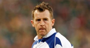 International rugby referee Nigel Owens disappointed with  comments from former rugby player Neil Francis's gay remarks. Photograph: Siphiwe Sibeko/Reuters