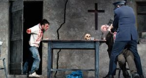 Owen MacCarthaigh's set for Decadent Theatre Company's A Skull in Connemara