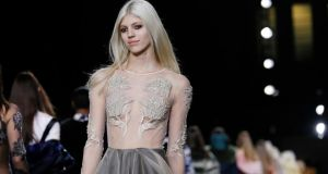 Topshop Unique Show. Photograph: Reuters