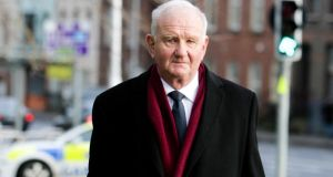 Anglo trial witness Michael Jacob at Dublin Circuit Criminal Court yesterday.