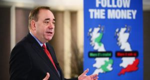 "Alex Salmond: London has ""misread the nature of Scotland and the character of the Scottish people"". Photograph: Getty Jeff J Mitchell/Getty Images"