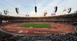 London's Olympic Stadium, which has been confirmed as one of 13 venues for the 2015 Rugby World Cup. Photograph: Anna Gowthorpe/PA