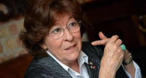 "Louise Arbour,  head of the International Crisis Group: ""You cannot enforce a no-fly zone without taking down the air defence system."" Photograph: Eric Luke"