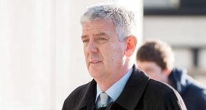 Witness Declan Quilligan at Dublin Circuit Criminal Court yesterday. Photograph: Collins Courts