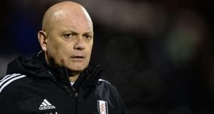 Former Fulham coach Ray Wilkins has announced he is struggling with ulcerative colitis  in order to dispel rumours of a drinking problem.  Photograph: Andrew Matthews/PA