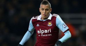 West Ham midfielder Ravel Morrison has completed his move to QPR on a 93-day loan. Photograph:  Stephen Pond/PA