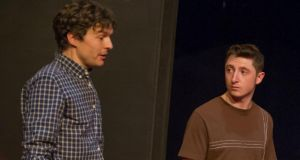 Nominee: Ryan McParland, right,  in Summertime, written by David Ireland and directed by Michael Duke for Tinderbox Theatre Company