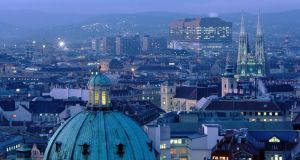 Vienna was ranked as the city with the world's best quality of living, followed by Zurich, Auckland, Munich and Vancouver