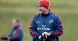Anthony Foley has been named as the new coach of Munster. Photograph:  Dan Sheridan/Inpho