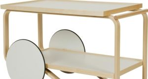 Tea Trolley 901, designed by Alvar Aalto in 1935-36 for Artek