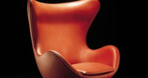 Egg chair  designed by Arne Jacobsen in 1958