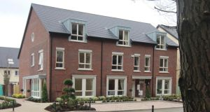 The new houses at Brickfield in Dún Laoghaire